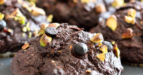 Pumpkin Zucchini Chocolate Muffins | Recipe | Chocolate Muffins ...