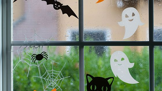 d co halloween diy halloween pinterest fen tre d 39 halloween potirons et bonheur. Black Bedroom Furniture Sets. Home Design Ideas