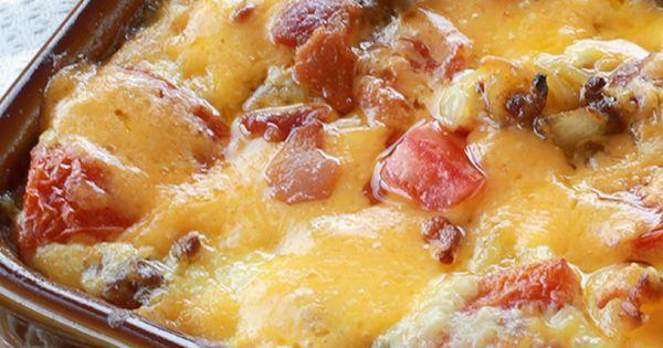 Bacon Cheeseburger Pasta Bake | Recipe | Bacon, Peace and Cheese