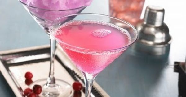 Cotton Candy Martini. | Gourmet cotton candy spun-live at events is available