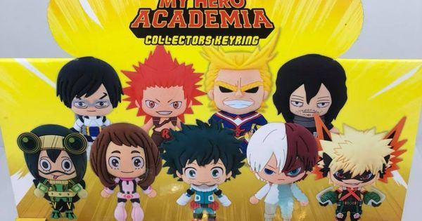 My Hero Academia 3D Figure Blind Bag Keychain Ochaco Uraraka Anime Boku No