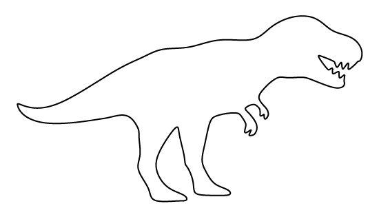 Hilaire image inside t rex printable