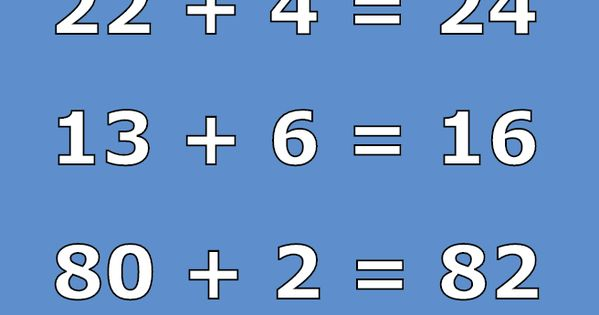 Brain Teaser Number And Math Puzzle Math Problem For Geniuses Can You Solve This 22 4 24 13 Math Genius Math Puzzles Brain Teasers Maths Puzzles
