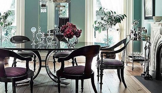 Formal dining rooms take a turn with this whimsical for Alternative ideas for formal dining room