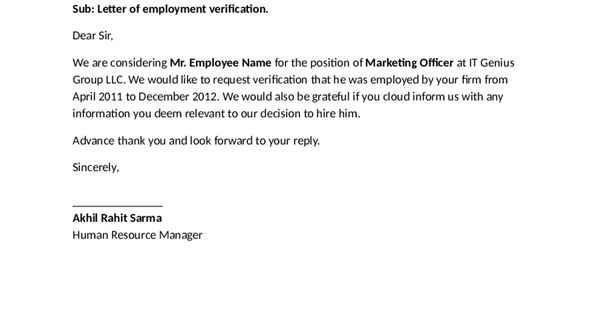 letter certification doc self employment proof letters letter of employment verification