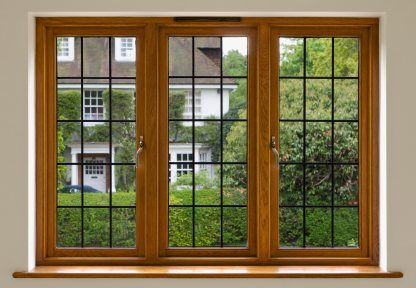 This Beautifully Stained And Finished Solid Mahogany Window Is Perfect For Your Home Wood Windows Wooden Window Frames Wooden Windows