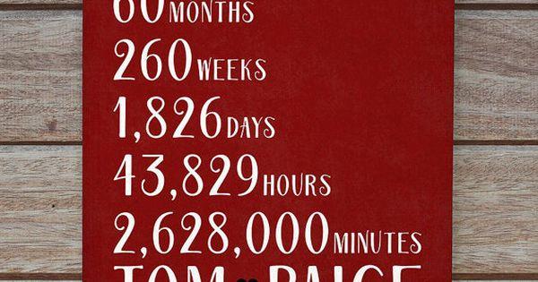1 Year Countdown Wedding Gift : Gifts, 5 Year, 10 Year, 15 Year, 20 Year Anniversary, Countdown ...