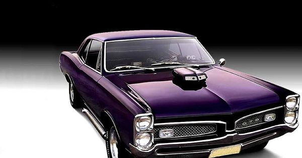purple cars | old car, muscle car, 1967 Pontiac GTO,