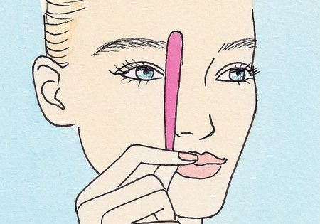 How to get perfectly shaped eyebrows in 4 easy steps.