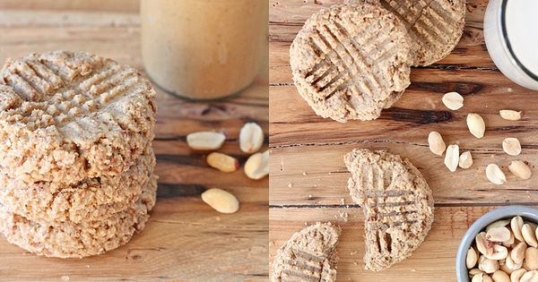 Peanut butter breakfast cookies - I've been eating a lot of peanut