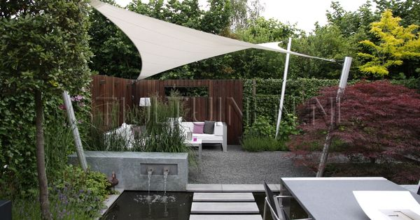 Zeil02 schaduw cre ren pinterest tuin and gardens - Eigentijdse landscaping ...