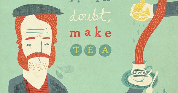 So la da di da di we like to tea party Tea