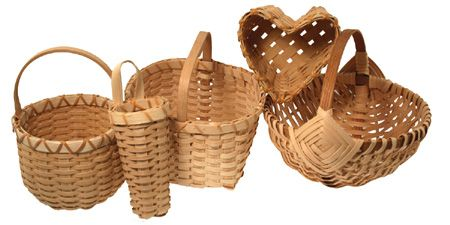 Basket Weaving With Reeds : This is our internet special basket weaving kit learn to