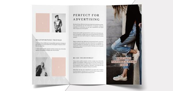 MALINA is a modern and clean multipurpose trifold brochure template and perfect to present your projects and business