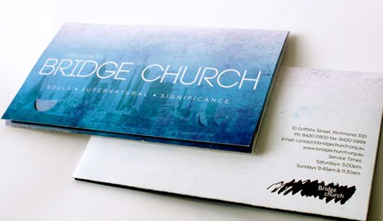 Bridge church welcome pack by cathy fransisca welcome folders pinterest churches bridge Interior design welcome packet