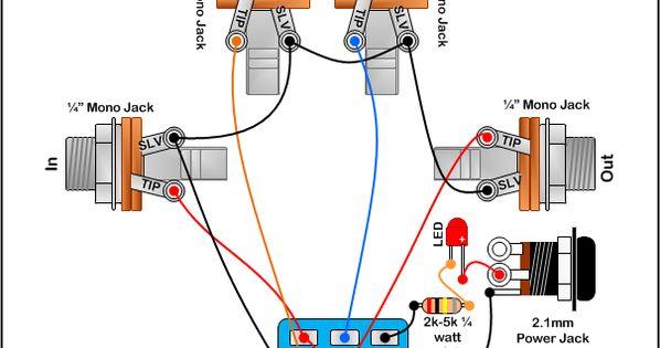 true bypass looper wiring diagram led indicator 3pdt. Black Bedroom Furniture Sets. Home Design Ideas