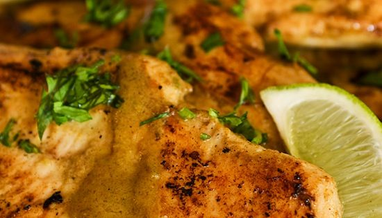 Lime & Coconut Chicken. This recipe is incredible. The combination of spices,