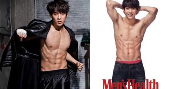 Eye Candy Hunky Male Celebrities Who Graced The Pages Of Men S Health Btob Minhyuk Mens Health Celebrities Male