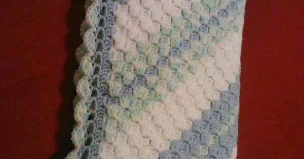 Beautiful Border For A Corner To Corner C2c Afghans