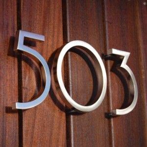 Mid Century Modern House Numbers Mid Century Modern Mid