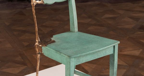 tjep. counters 3D printing with sculpted furniture from bronze