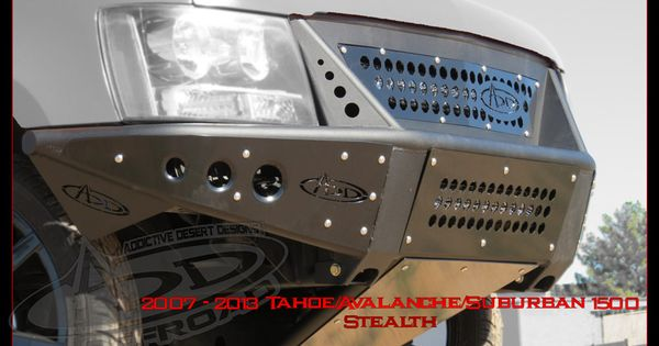 2007 - 2013 Custom Front Bumper for the Chevy Tahoe ...
