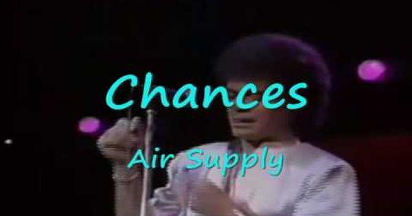 Chances Air Supply Sony Music Entertainment Music Book Air