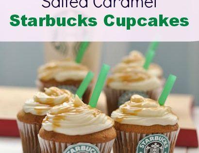Salted Caramel Starbucks Cupcakes Recipe | Caramel Cupcakes Recipe Salted Starbucks