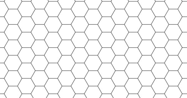 Hexagonal Graph Paper  Graph Paper    Graph Paper And
