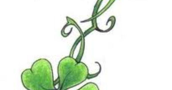 4 leaf clover klavertje vier pinterest klavers en bladeren. Black Bedroom Furniture Sets. Home Design Ideas