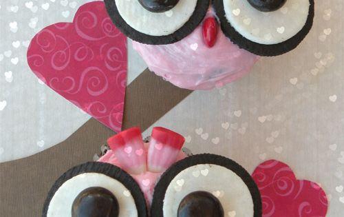 valentine owl treats