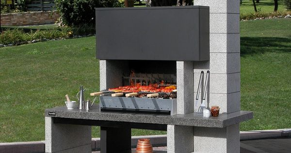 Barbecue fixe en dur prix zahrada pinterest barbecue for Barbecue en dur exterieur