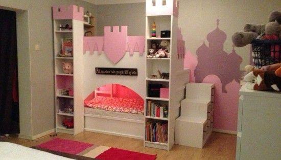 Kinderbett ikea  Diese Mutter baute ein IKEA Kura Kinderbett für das ihr ihre ...