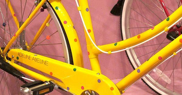 Adeline Adeline Paint Bike Cycle Chic Bicycle Maintenance