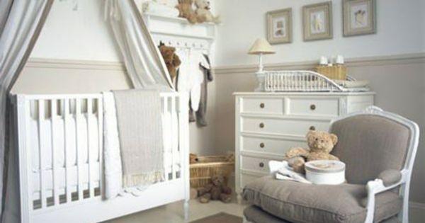 D coration pour la chambre de b b fille b b filles ranger et gris - Organiser chambre bebe ...