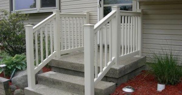 Vinyl railing vinyl railingat lowes vinyl railing angle brackets v tempat untuk - Vinyl deck railing lowes ...