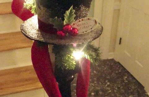 ♔ CHRISTMAS HOLIDAY DECORATE WITH FROSTY'S HAT