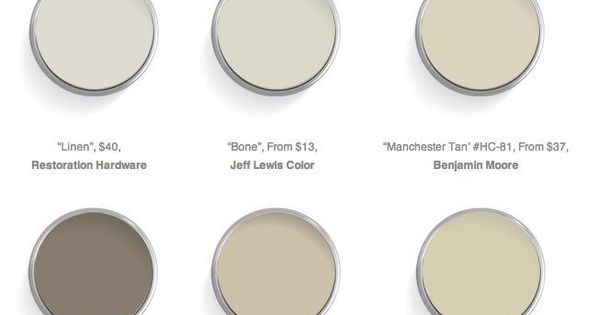 The 12 Best Warm Neutrals For Your Walls