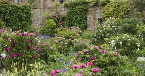 The rose garden in june at sissinghurst castle jonathan for Garden design yeovil