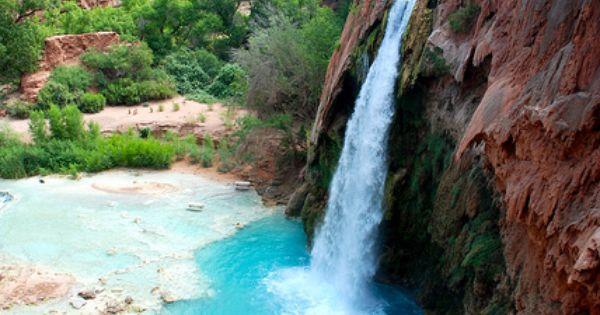 Havasu Waterfalls, Grand Canyon, AZ.