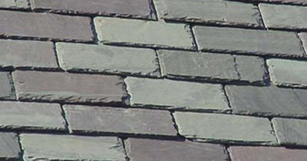 Fire resistant roofing and siding slate roof slate and for Fire resistant roofing