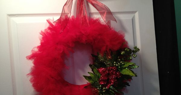 Christmas decorations tutus and tulle on pinterest