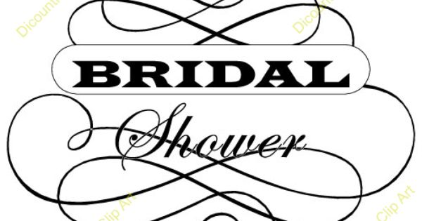 Clipart For Wedding Invitations Free: Bridal-shower-clipart.jpg (500×500)