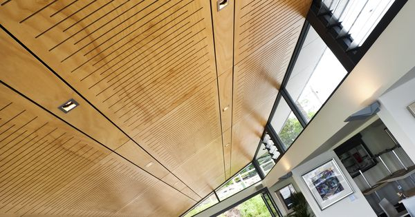 Perforated Plywood Used As Ceiling Panels Solid Plywood