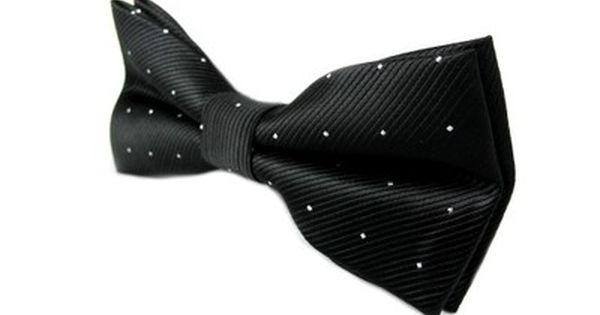 Elegancka Mucha Muszka Meska Czarna W Kropki Anl 6048143455 Oficjalne Archiwum Allegro Groom Style Style Fashion
