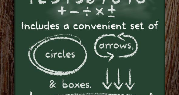 School Type Lettering – Chalkboard Font – Handwriting Fonts