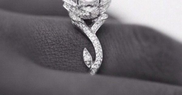 Absolutely the most beautiful wedding ring I've ever seen I'm in love!