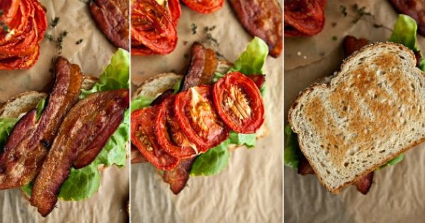 B L (slow-roasted) T | EATS: sandwiches/burgers ...