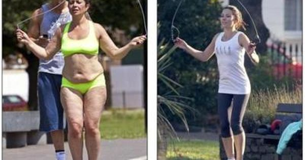 before/after fitness healthy weightloss motivation This is awesome if its the same