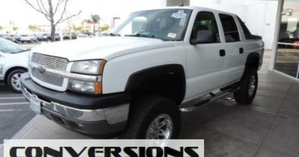 2005 Lifted Chevrolet Avalanche 1500 2wd Crew Cab Ls With Images Lifted Chevy Gmc Trucks Trucks For Sale